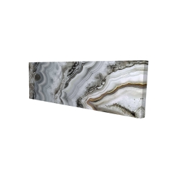 Canvas 16 x 48 - 3D - Abstract geode