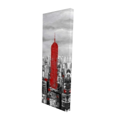 Canvas 16 x 48 - 3D - Empire state building of new york