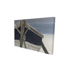 Canvas 24 x 36 - 3D - Bateau