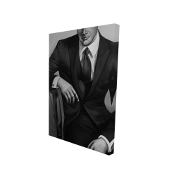 Canvas 24 x 36 - 3D - Businessman
