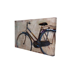 Canvas 24 x 36 - 3D - Industrial bicycle