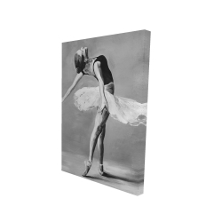 Canvas 24 x 36 - 3D - Classic ballet dancer