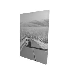 Toile 24 x 36 - 3D - En voiture encore une fois