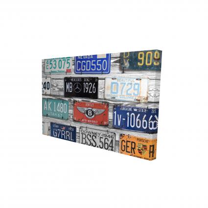Vintage plates registration