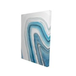 Canvas 24 x 36 - 3D - Round geode