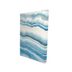 Canvas 24 x 36 - 3D - Textured geode