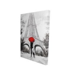 Canvas 24 x 36 - 3D - Sweet moment