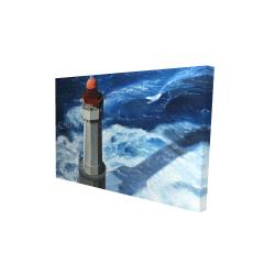 Canvas 24 x 36 - 3D - The headlight of jument