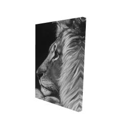 Canvas 24 x 36 - 3D - Lion and lioness