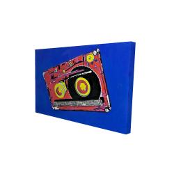 Canvas 24 x 36 - 3D - Tape player
