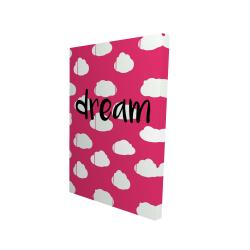 Canvas 24 x 36 - 3D - Dream
