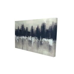 Canvas 24 x 36 - 3D - Dark city