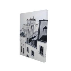 Canvas 24 x 36 - 3D - Historical buildings