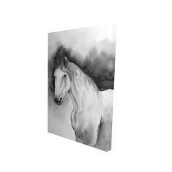 Canvas 24 x 36 - 3D - Domino horse
