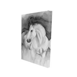 Canvas 24 x 36 - 3D - Beauty