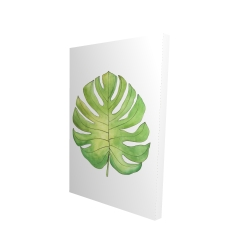 Canvas 24 x 36 - 3D - Tropical leaf