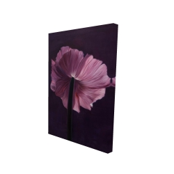 Canvas 24 x 36 - 3D - Purple petals