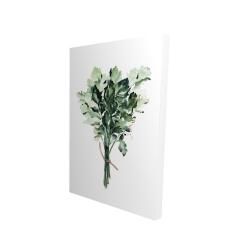 Canvas 24 x 36 - 3D - Tied up persil bundle