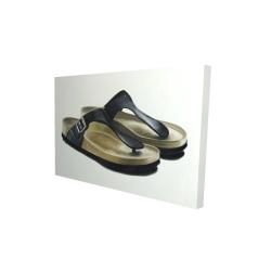 Canvas 24 x 36 - 3D - Sandals