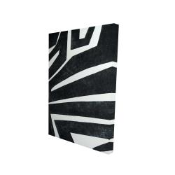 Canvas 24 x 36 - 3D - Labyrinth
