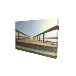 Canvas 24 x 36 - 3D - Footbridge