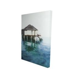 Canvas 24 x 36 - 3D - Dream travel