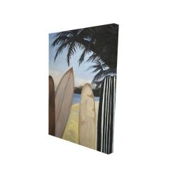 Canvas 24 x 36 - 3D - Surfboards