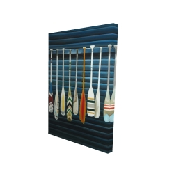 Canvas 24 x 36 - 3D - Paddles