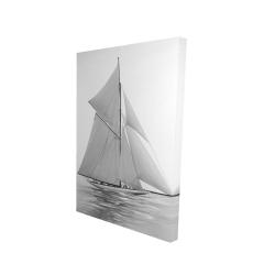 Canvas 24 x 36 - 3D - Sailing ship