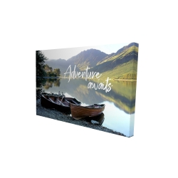 Canvas 24 x 36 - 3D - Adventure awaits