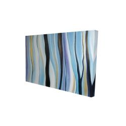 Toile 24 x 36 - 3D - Humeur bleu