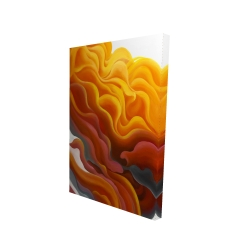 Canvas 24 x 36 - 3D - Colorful smoke