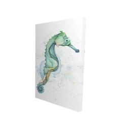 Canvas 24 x 36 - 3D - Sea horse