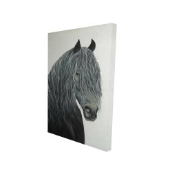 Canvas 24 x 36 - 3D - Wild heart