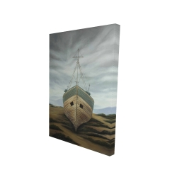 Canvas 24 x 36 - 3D - Boat