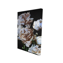 Canvas 24 x 36 - 3D - Peonies