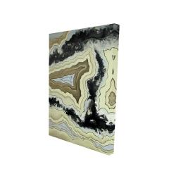 Canvas 24 x 36 - 3D - Lace agate