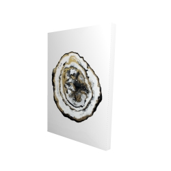 Canvas 24 x 36 - 3D - Golden geode