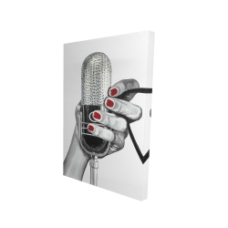 Canvas 24 x 36 - 3D - Sing your life