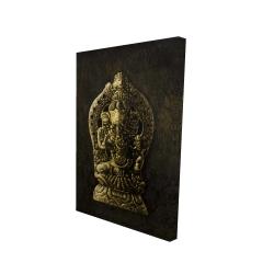 Canvas 24 x 36 - 3D - Lord ganesha
