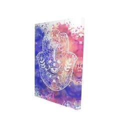 Canvas 24 x 36 - 3D - Hamsa hand