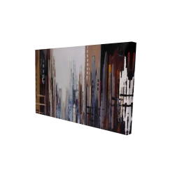 Canvas 24 x 36 - 3D - Abstract buildings
