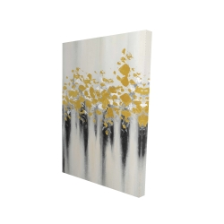 Canvas 24 x 36 - 3D - Small golden spots