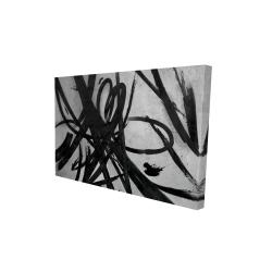 Canvas 24 x 36 - 3D - Circular strokes