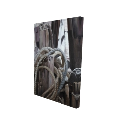 Canvas 24 x 36 - 3D - Driftwood