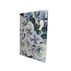 Canvas 24 x 36 - 3D - Colorful hydrangea flowers
