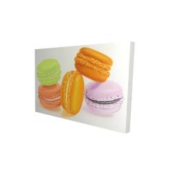Canvas 24 x 36 - 3D - Small bites of macaroons