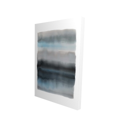 Canvas 24 x 36 - 3D - Shade of blue