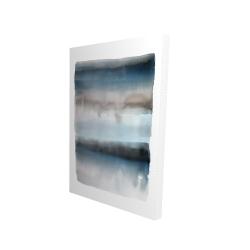 Canvas 24 x 36 - 3D - Blue stripes