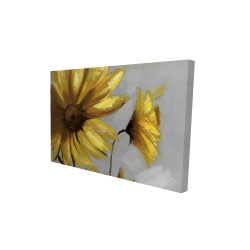 Canvas 24 x 36 - 3D - Mountain arnica flowers